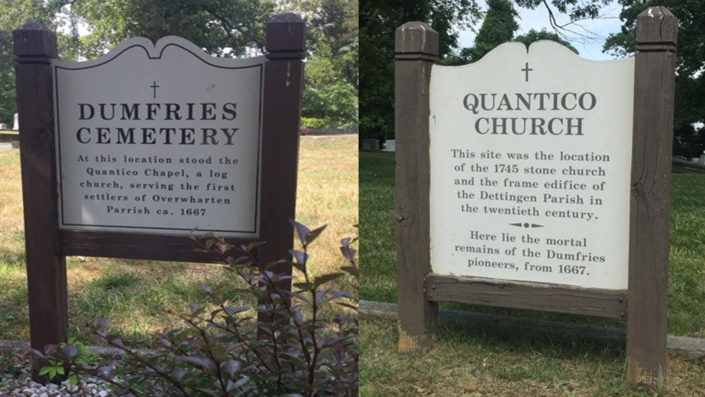 Quantico Church Cemetery